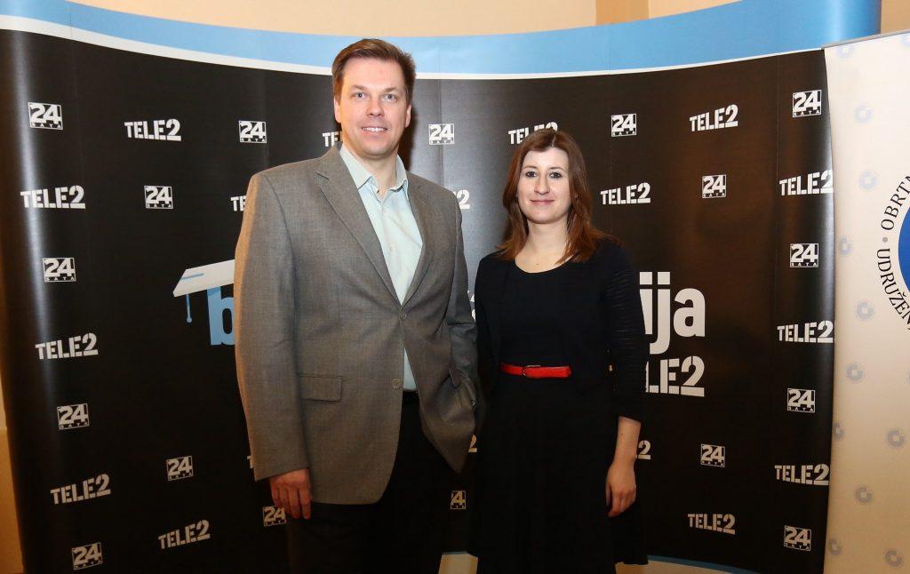 Vatroslav Skare and Sanja Novak